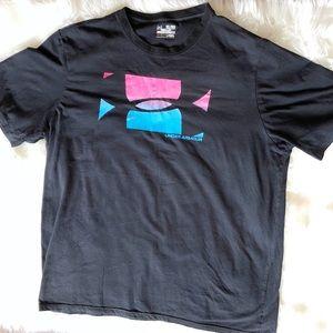 Men's Under Armour 3XL T-Shirt Black, Pink, Blue